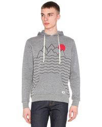 Altru | Gray Mountains And Sun Hoodie for Men | Lyst