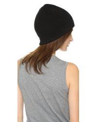 Acne | Black Canning L Rib Hat | Lyst