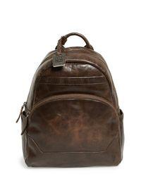 Frye | Brown 'melissa' Backpack | Lyst