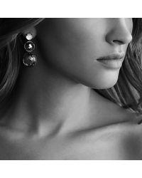 David Yurman - Metallic Triple-drop Earrings - Lyst