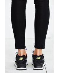 New Balance | Gray 574 Sweatshirt Running Sneaker | Lyst