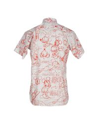 Comme des Garçons - Red Shirt for Men - Lyst