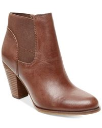 Steven by Steve Madden | Brown Roami Dress Booties | Lyst
