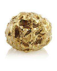 Fred Leighton | Metallic 18karat Gold Nugget Ring | Lyst