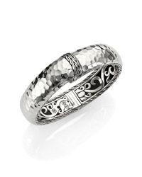 John Hardy | Metallic Palu Sterling Silver Kick Cuff Bracelet | Lyst