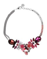 La Perla - Red Necklace - Lyst