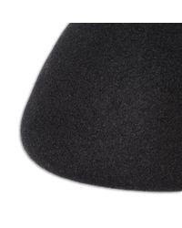 Stella McCartney - Black Wool Beret - Lyst