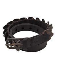 Johnny Farah - Black Double Row Bracelet - Lyst