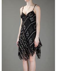 Ralph Lauren Blue Label | Black Spaghetti Strap Dress | Lyst