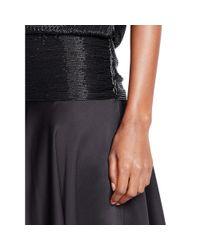 Ralph Lauren Black Label - Black Perri Beaded Silk Dress - Lyst