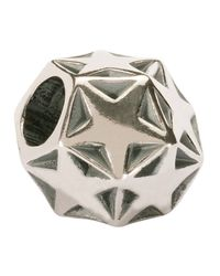 Trollbeads | Metallic 'sparkling Star' Silver Bead | Lyst