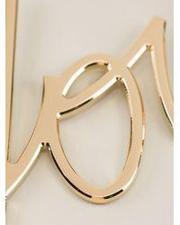 Lanvin | Metallic You Necklace | Lyst