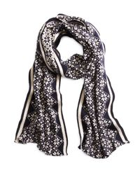 Brooks Brothers - Blue Fair Isle Scarf for Men - Lyst