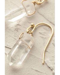 Anthropologie - White Athene Stone Drop Earrings - Lyst