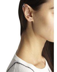 MFP MariaFrancescaPepe | Metallic Silver Plated Ear Cuff | Lyst