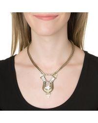 Lionette | Metallic Santiago Necklace | Lyst