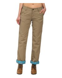 Marmot | Natural Piper Flannel Lined Pants | Lyst