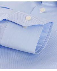 Eton of Sweden | Blue Slim Fit Plain Shirt for Men | Lyst