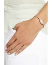 Brooke Gregson - Pink 14-Karat Rose Gold, Moonstone And Diamond Bracelet - Lyst
