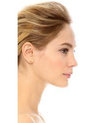 Amber Sceats - Metallic Ella Earrings - Gold - Lyst