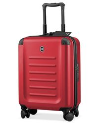 "Victorinox | Red Victorinox Spectra 2.0 21"" Global Carry On Hardside Spinner Suitcase 