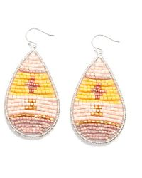 Nakamol - Multicolor Tatonga Earrings-light Pink Mix - Lyst