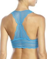 Honeydew Intimates | Blue Scarlette Lace Bralette & Hipster Panty | Lyst