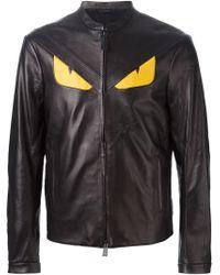 Fendi - Black Bag Bugs Jacket for Men - Lyst