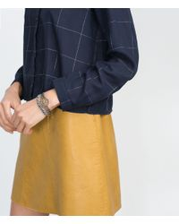 Zara | Metallic Colorful Crystal Bracelets | Lyst