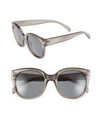 A.J. Morgan - Gray 'pristine' 55mm Oversized Sunglasses - Lyst