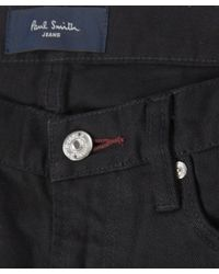Paul Smith | Black Slim-fit Stretch-denim Jeans L32 for Men | Lyst