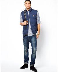 Pepe Jeans | Blue Gillet Hackney for Men | Lyst