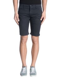 Takeshy Kurosawa | Blue Bermuda Shorts for Men | Lyst