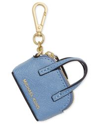 Michael Kors | Blue Michael Cindy Key Fob | Lyst