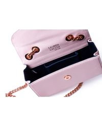 Lauren Cecchi New York | Pink Mezzo Blush Medium Cross Body Bag | Lyst