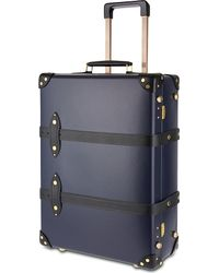 "Globe-Trotter | Blue Moneypenny 21"" Two-wheeled Trolley Suitcase for Men 
