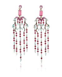 Wendy Yue - Multicolor Chandelier Earrings - Lyst