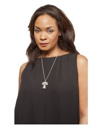 Kenneth Jay Lane | Metallic Knox Deco Necklace | Lyst