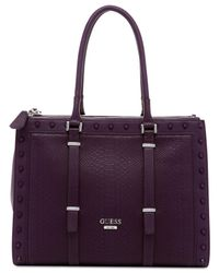 Guess | Purple Basel Status Carryall | Lyst