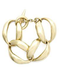Vaubel - Metallic Oval Link Bracelet - Lyst
