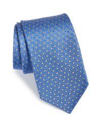 Michael Kors - Blue Floral Dot Silk Tie for Men - Lyst