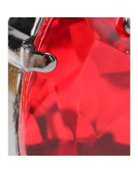 Givenchy - Red Embellished Earrings - Lyst