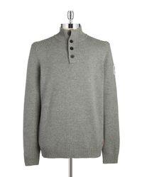 Strellson | Gray Mockneck Sweater for Men | Lyst