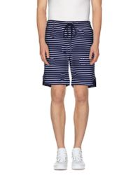 KENZO - Blue Bermuda Shorts for Men - Lyst