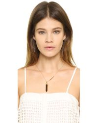 Samantha Wills - Brown Tiger's Eye Mineral Necklace - Lyst