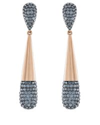 Swarovski - Metallic Cypress Small Crystal Drop Earrings - Lyst