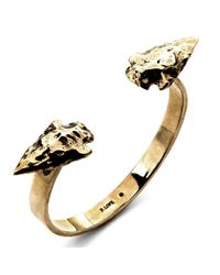 Pamela Love | Metallic Double Mini Arrowhead Cuff | Lyst