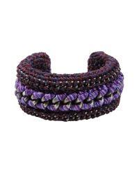 Venessa Arizaga - Purple Bracelet - Lyst
