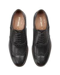 John Lewis - Black Bentley Storm Leather Brogue Shoes for Men - Lyst