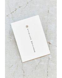 Kathleen Whitaker | Gray X Uo Sterling Silver Dot Stud Earring | Lyst